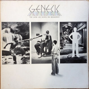 Genesis – The Lamb Lies Down On Broadway