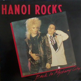 Hanoi Rocks – Back To Mystery City