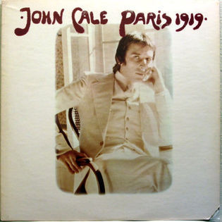 John Cale – Paris 1919
