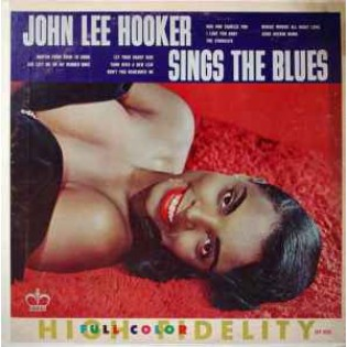 John Lee Hooker Sings The Blues