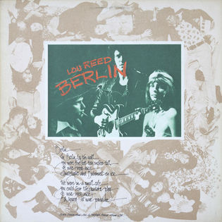 Lou Reed – Berlin
